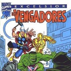 Cómics: LOS VENGADORES 1-1/2 - FORUM. ESPECIAL FORUM. LINEA EXCELSIOR.. Lote 160596641