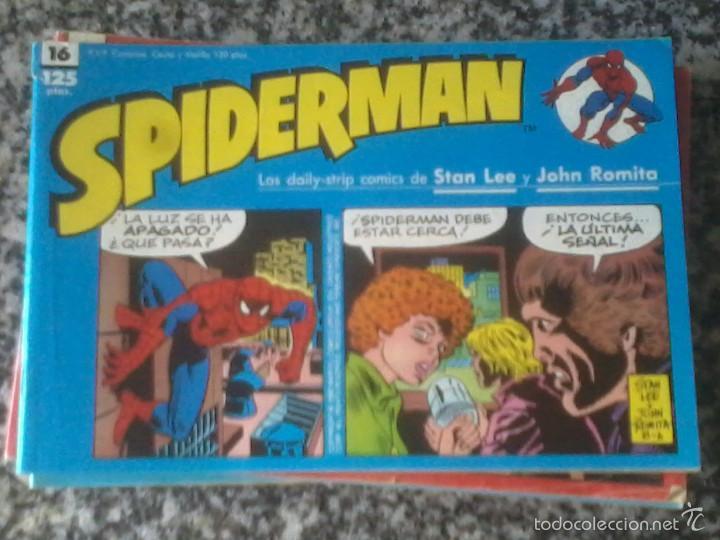 SPIDERMAN TIRAS DIARIAS. VARIOS NÚMEROS: (Tebeos y Comics - Forum - Spiderman)