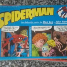 Cómics: SPIDERMAN TIRAS DIARIAS. VARIOS NÚMEROS:. Lote 120910895