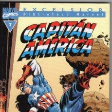 Cómics: CAPITÁN AMÉRICA - BIBLIOTECA MARVEL - NÚMERO 7. Lote 56986166