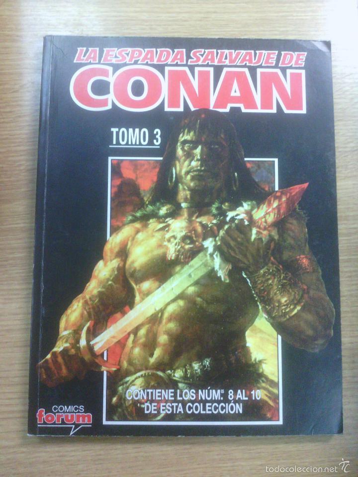 ESPADA SALVAJE DE CONAN VOL 2 RETAPADO #3 (NUMEROS 8 A 10) (Tebeos y Comics - Forum - Conan)