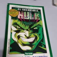 Cómics: HULK : DENTRO DEL PANTEON - LIBRO GRANDES SAGAS ¡ TOMO 270 PAGINAS ! FORUM. Lote 57083932