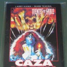 Cómics: OBRAS MAESTRAS Nº 23 DIENTES DE SABLE - CAZA MORTAL (LARRY HAMA / MARK TEXEIRA). Lote 57117088