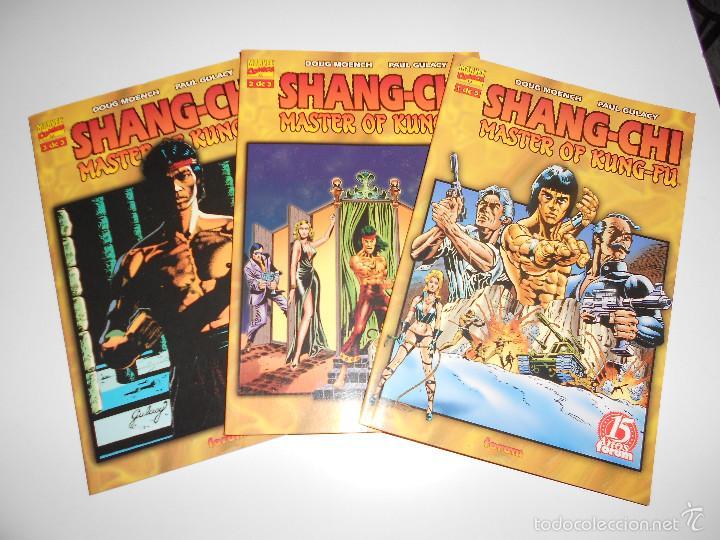 SHANG-CHI MASTER OF KUNG-FU. TOMOS NUM.1,2 Y 3. OBRA COMPLETA (Tebeos y Comics - Forum - Prestiges y Tomos)