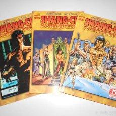 Cómics: SHANG-CHI MASTER OF KUNG-FU. TOMOS NUM.1,2 Y 3. OBRA COMPLETA. Lote 57127339