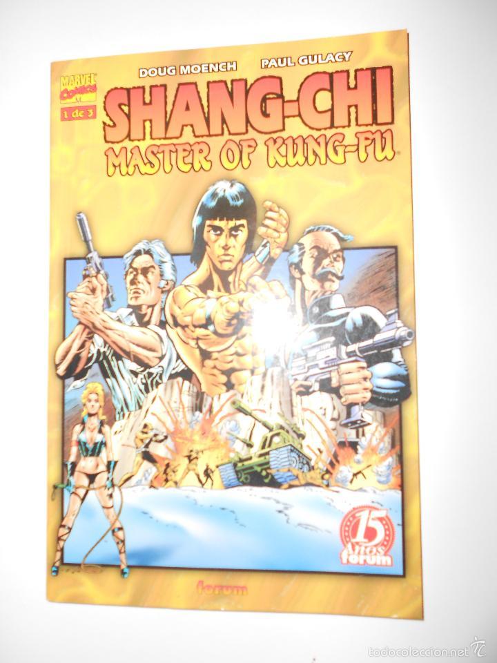 Cómics: SHANG-CHI MASTER OF KUNG-FU. TOMOS NUM.1,2 Y 3. OBRA COMPLETA - Foto 2 - 57127339