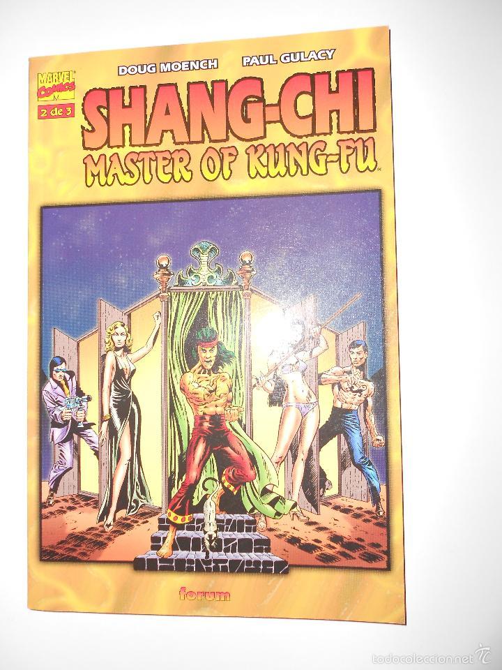 Cómics: SHANG-CHI MASTER OF KUNG-FU. TOMOS NUM.1,2 Y 3. OBRA COMPLETA - Foto 3 - 57127339
