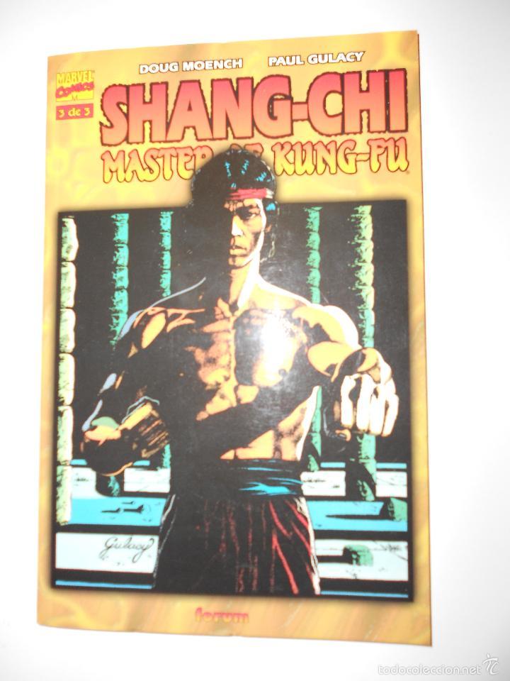 Cómics: SHANG-CHI MASTER OF KUNG-FU. TOMOS NUM.1,2 Y 3. OBRA COMPLETA - Foto 4 - 57127339