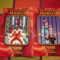 Cómics: TESOROS MARVEL LOS AÑOS PERDIDOS SPIDERMAN TOMOS 1 Y 2. Lote 57134204