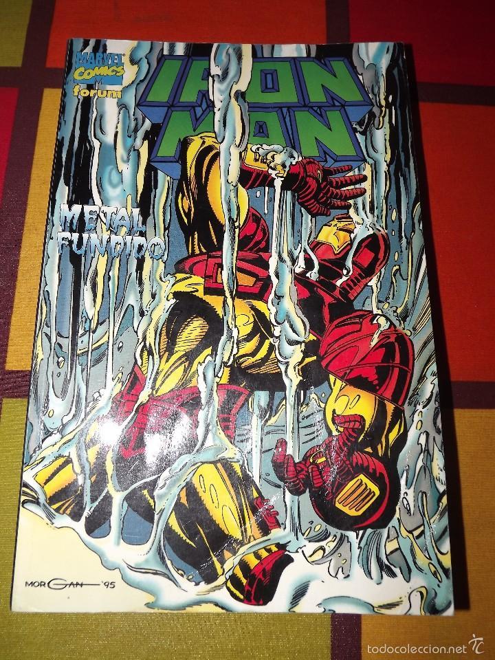 IRON MAN METAL FUNDIDO. (Tebeos y Comics - Forum - Iron Man)