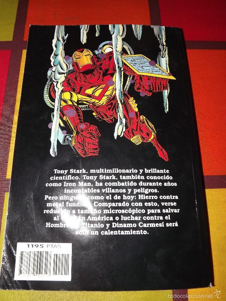 Cómics: IRON MAN METAL FUNDIDO. - Foto 2 - 57138378