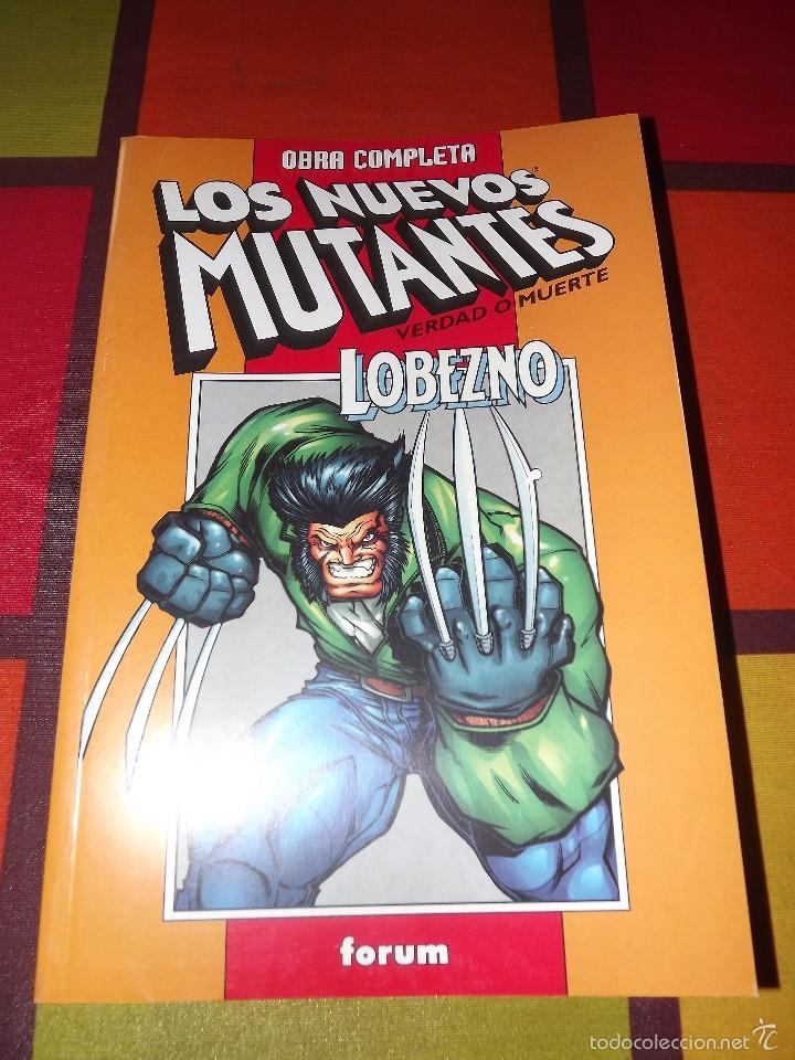 LOS NUEVOS MUTANTES VERDAD O MUERTE / LOBEZNO DÍAS DEL FUTURO PASADO TOMO RETAPADO(COMPLETAS). (Tebeos y Comics - Forum - Nuevos Mutantes)
