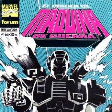 Cómics: IRON MAN EL ORIGEN DE MAQUINA DE GUERRA.FORUM.COMPLETA.6 NUMEROS.MBE.. Lote 48692149