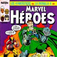 Cómics: MARVEL HÉROES VOL.1.LOS 4 FANTÁSTICOS VS. PATRULLA X.DEL 11 AL 14.FÓRUM.MBE.. Lote 53594662