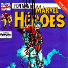 Cómics: MARVEL HÉROES VOL.1.IRON MAN STARK WARS.DEL 54 AL 59.FÓRUM.MBE.. Lote 53594707