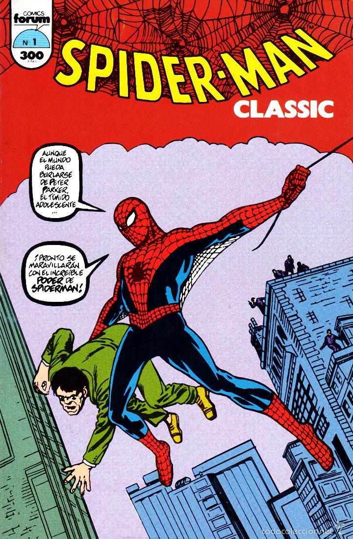 CLASSIC SPIDERMAN VOLUMEN 1.FÓRUM. COMPLETA. 16 NÚMEROS.MBE (Tebeos y Comics - Forum - Spiderman)