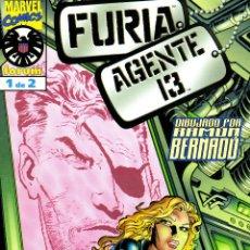 Cómics: FURIA AGENTE 13. SERIE LIMITADA. FÓRUM.COMPLETA. NUEVOS.. Lote 54835282