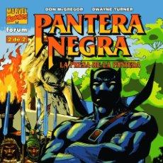 Cómics: LA PRESA DE LA PANTERA NEGRA.FÓRUM. COMPLETA. NÚMEROS 1 Y 2.. Lote 54862620