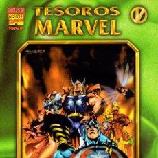 Cómics: EXCELSIOR.TESOROS MARVEL 05.LOS VENGADORES 01.FÓRUM.NUEVO.. Lote 56031297