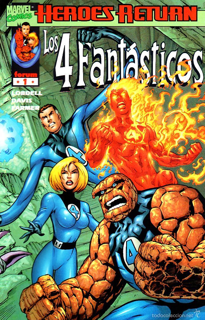 LOS 4 FANTASTICOS VOLUMEN 3.FORUM.COMPLETA.34 NUMEROS.PERFECTA. (Tebeos y Comics - Forum - 4 Fantásticos)