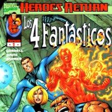Cómics: LOS 4 FANTASTICOS VOLUMEN 3.FORUM.COMPLETA.34 NUMEROS.PERFECTA.. Lote 48599250
