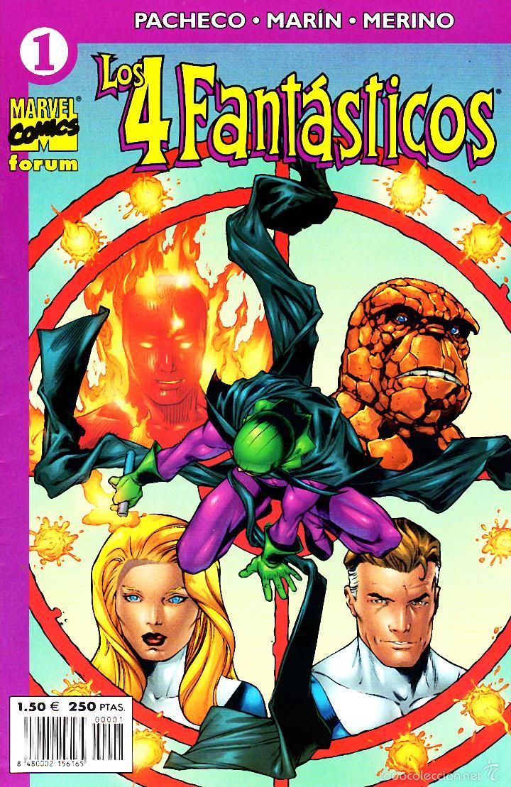 LOS 4 FANTASTICOS VOLUMEN 4.FORUM.COMPLETA.24 NUMEROS.PERFECTA. (Tebeos y Comics - Forum - 4 Fantásticos)