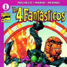 Cómics: LOS 4 FANTASTICOS VOLUMEN 4.FORUM.COMPLETA.24 NUMEROS.PERFECTA.. Lote 48599477