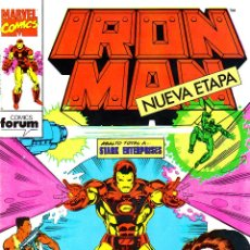 Cómics: IRON MAN VOLUMEN 2.FORUM.COMPLETA.15 NUMEROS.MBE. Lote 48600886