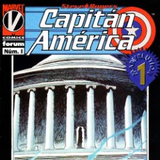 Cómics: CAPITAN AMERICA VOLUMEN 3.FORUM.COMPLETA.11 NUMEROS.PERFECTA.. Lote 48602137