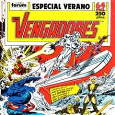 Cómics: LOS VENGADORES VOLUMEN 1.ESPECIAL VERANO 1989.FÓRUM.. Lote 57218618