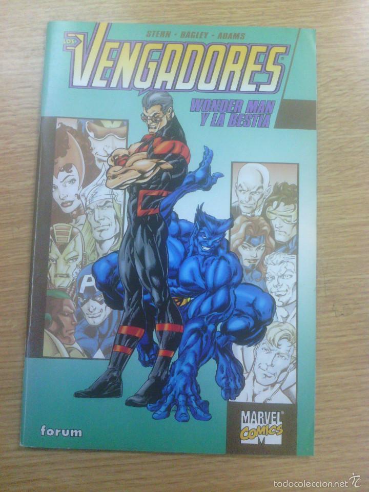 VENGADORES WONDER MAN Y LA BESTIA (Comics und Tebeos - Forum - Vengadores)