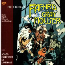Cómics: FRITZ LEIBER'S FAFHRD AND THE GRAY MOUSER. EPIC COMICS. SERIE DE 4 PRESTIGIOS. FORUM. Lote 57382019