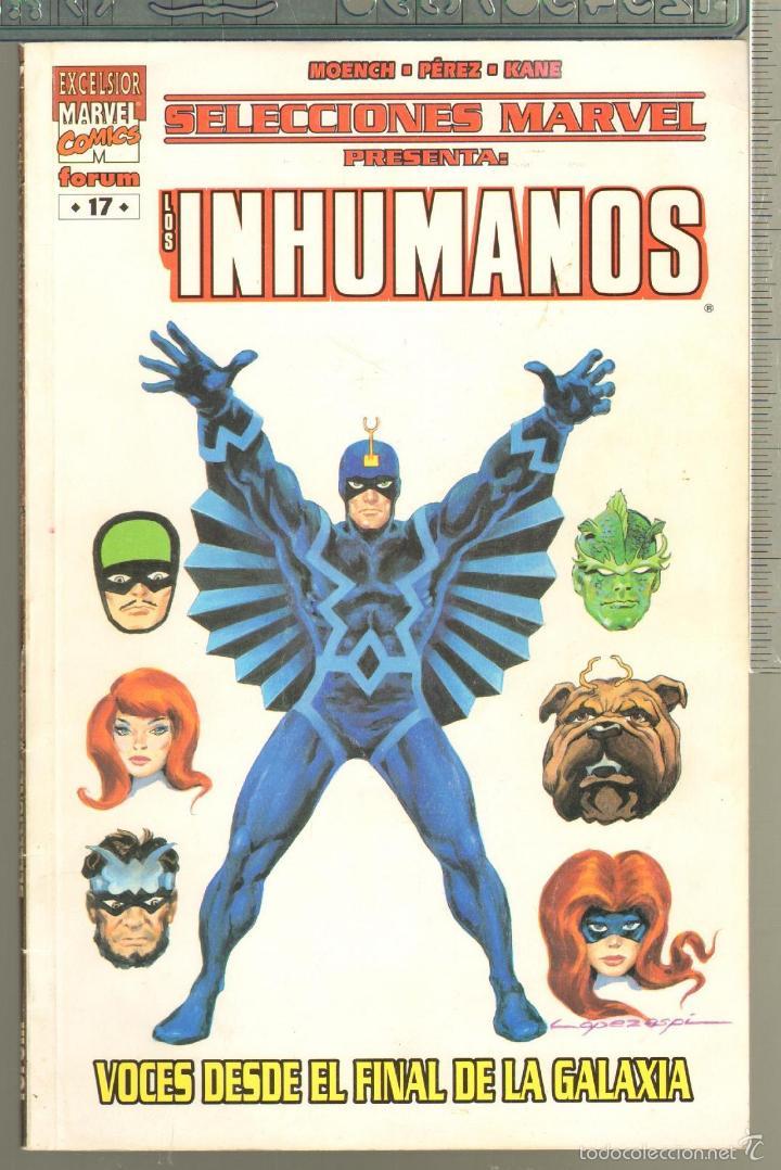 TEBEOS-COMICS CANDY - INHUMANOS - 17 18 - COMPLETA - SELECCIONES MARVEL - 2 TOMOS - *AA98 (Tebeos y Comics - Forum - Prestiges y Tomos)