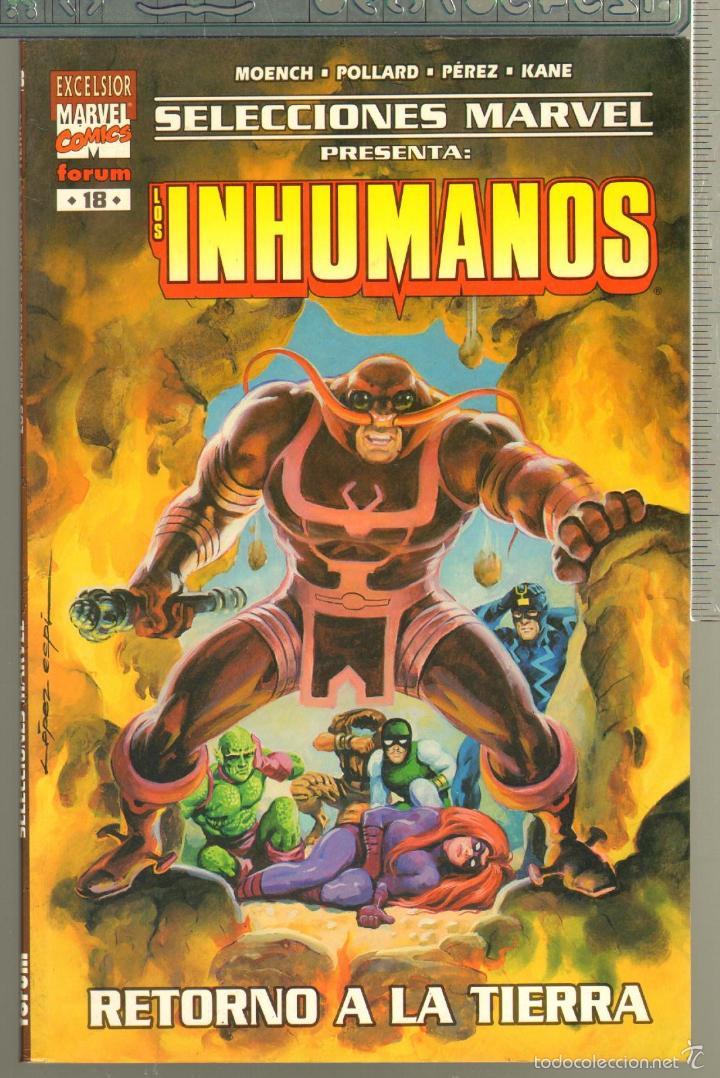Cómics: TEBEOS-COMICS CANDY - INHUMANOS - 17 18 - COMPLETA - SELECCIONES MARVEL - 2 TOMOS - *AA98 - Foto 2 - 57427274