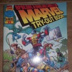 Cómics: MARVEL TRY OUT - APRENDE A DIBUJAR COMICS MARVEL - FORUM - TOMO ÚNICO. Lote 57451726