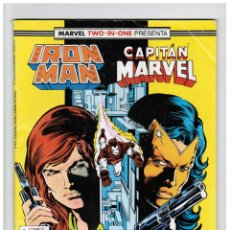 Cómics: IRON MAN / CAPITAN MARVEL VOL 1 Nº 47 - TWO IN ONE 64 PÁGINAS - FORUM. Lote 57506213