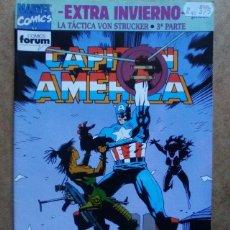 Cómics: CAPITAN AMERICA VOL. 1 Nº ESPECIAL INVIERNO 1992 - FORUM. Lote 111623568