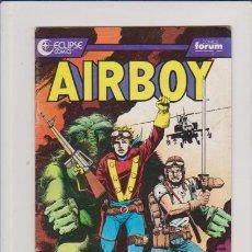 Cómics: AIRBOY - Nº 2 - ECLIPSE & FORUM COMICS 165 PTS.. Lote 57588328
