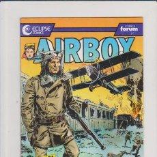 Cómics: AIRBOY - Nº 11 - ECLIPSE & FORUM COMICS . Lote 57589657