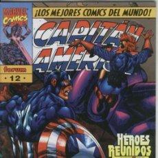 Cómics: CAPITAN AMERICA HEROES REBORN Nº 12 - FORUM - IMPECABLE. Lote 98655454