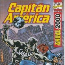 Cómics: CAPITAN AMERICA ANUAL 2000 - IMPECABLE. Lote 111505907