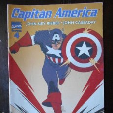 Cómics: CAPITAN AMERICA VOL. 5 Nº 4 - FORUM - IMPECABLE. Lote 57645103
