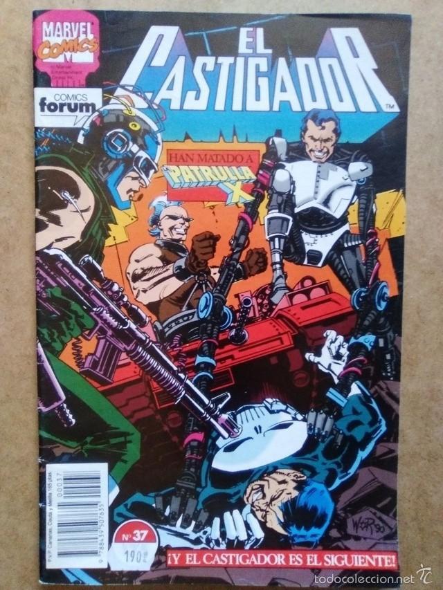 CASTIGADOR VOL. 1 Nº 37 - FORUM (Tebeos y Comics - Forum - Otros Forum)