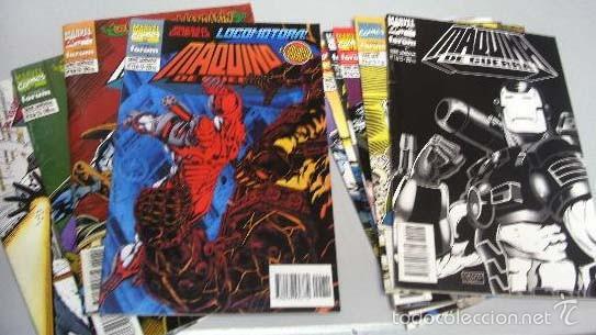 COLECCION CASI COMPLETA- MAQUINA DE GUERRA FORUM 10 NUMEROS DE 12 (Tebeos y Comics - Forum - Iron Man)