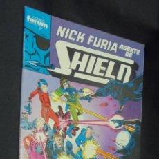 Cómics: NICK FURIA AGENTE DE SHIELD - Nº 2 - FORUM - . Lote 57727434