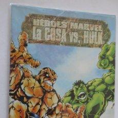 Cómics: HEROES MARVEL LA COSA VS HULK. Lote 57814933