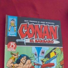 Cómics: CONAN EL BARBARO. ROY THOMAS. Nº 25. FORUM.. Lote 57815391