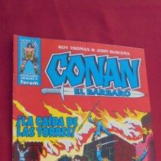 Cómics: CONAN EL BARBARO. ROY THOMAS. Nº 26. FORUM.. Lote 57815397
