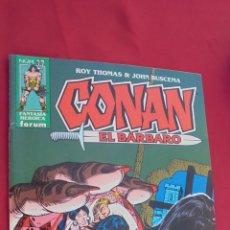Cómics: CONAN EL BARBARO. ROY THOMAS. Nº 27. FORUM.. Lote 57815408