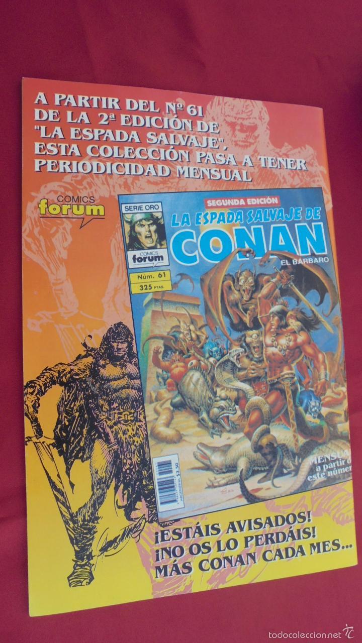 Cómics: CONAN EL BARBARO. ROY THOMAS. Nº 27. FORUM. - Foto 2 - 57815408
